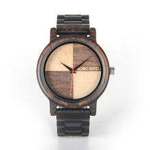 Men's Luxury Wood Wristwatch in Gift Box