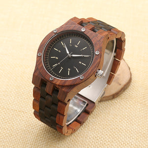 Men's Luxury Wood Watch in Gift  Box