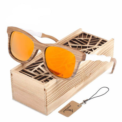 100% Natural Polarized Wooden Sunglasses