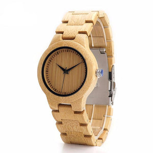 Ladies Bamboo Handmade All Bamboo Watch