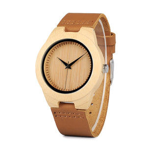 Ladies Luxury Wooden Quartz Watch