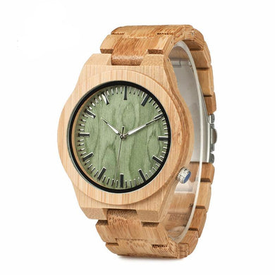 Original Bamboo Men's Wristwatch