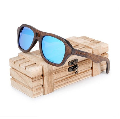Bamboo Wooden Sunglasses Women Men Polarized sun glasses sport eyewear in wood Box