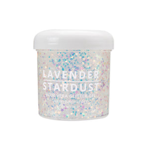 Lavender Stardust Glitter Gel in Unicorn Dreams