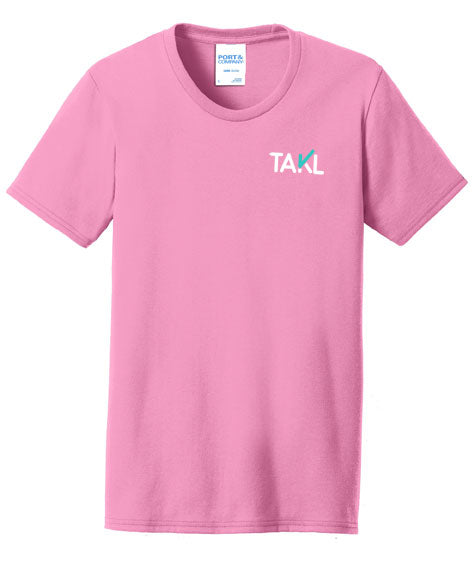 Takl Women's Short Sleeve T-Shirt - Pink