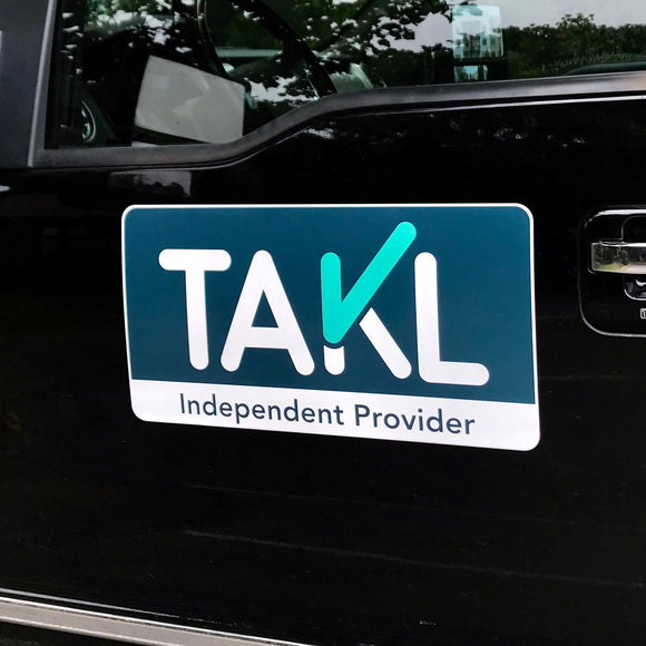 Takl Provider Vehicle Magnet