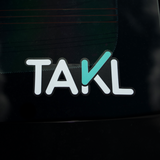 Takl Logo Stickers (Pack of 3)