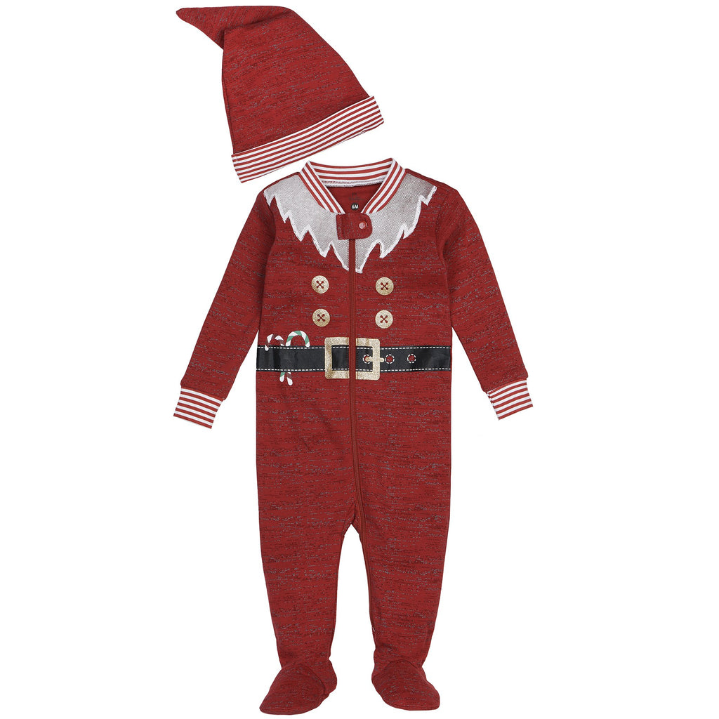 Pyjama Petit Lem - 17FT62 D552 ROUGE 501