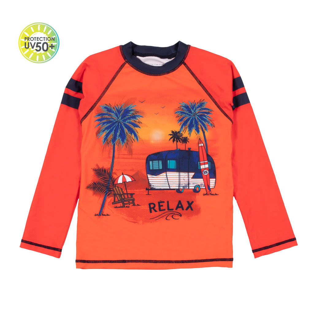 Maillot Nanö - S21S203-1 Orange - Boutique Flos