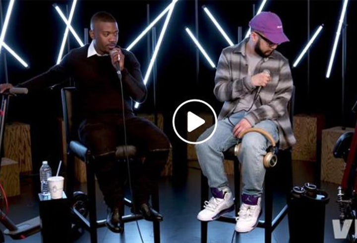 Facebook Live with Ray J and Mikey Fresh about Raycon