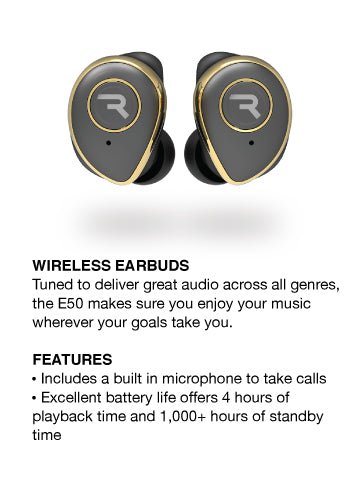 E50 Sway True Wireless Gold