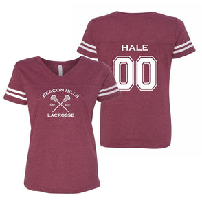 Beacon Hills Lacrosse Women's Double Sided Jersey - Hale 00