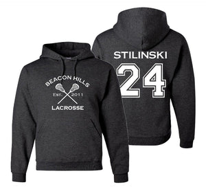 Stiles Stilinski 24, Beacon Hills Lacrosse Sweatshirt, Gift for s