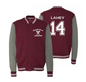 Beacon Hills Lahey 14 Varsity Sweatshirt Jacket
