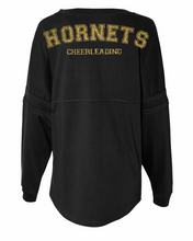 Lemont Hornets Cheer or Football Spirit Jersey with Monogram