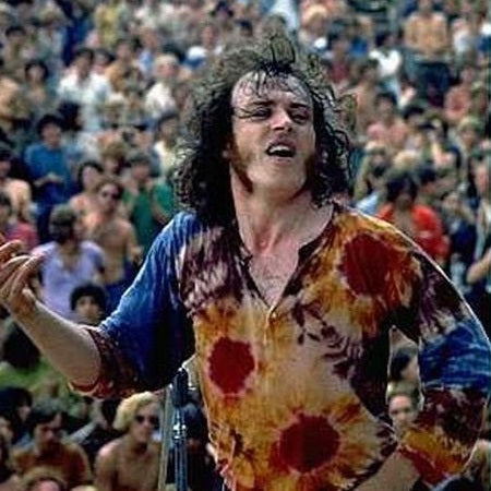 Woodstock Tie Dye 1969 Joe Cocker