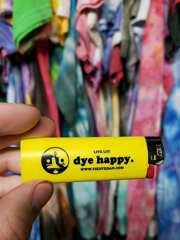 BIC Lighters are the best • Dye Happy Yellow