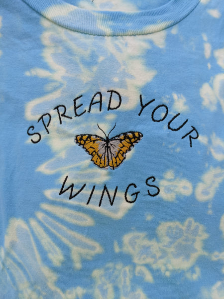 Stitch of the Week: Spread Your Wings Tie Dye