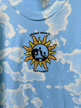 Shine More, Dye Happy: Cloudy Sky Tie Dye