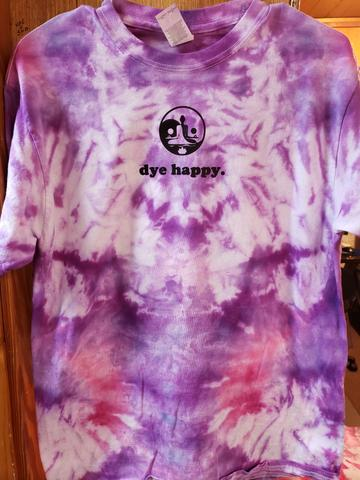 Sunset Pink Tie Dye Shirt • Dye Happy