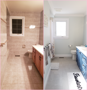 From Belt Buckles to Beautiful: My Bathroom Renovation