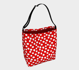 All About the Dots Tote Bag - Red