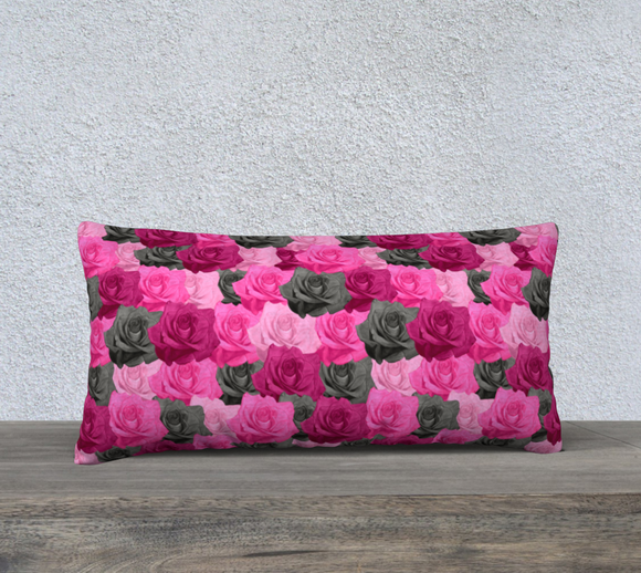 Pink Roses Pillow Case - 24
