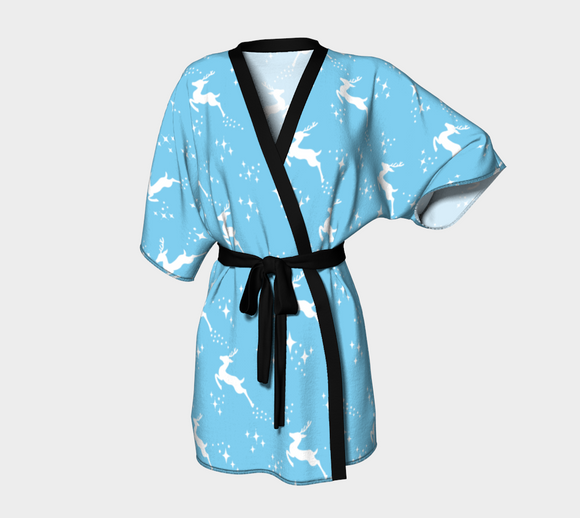 Let it snow, Deer Kimono Robe