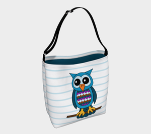Oliver the Owl Tote Bag