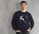 Let it snow, Deer Crewneck Sweatshirt