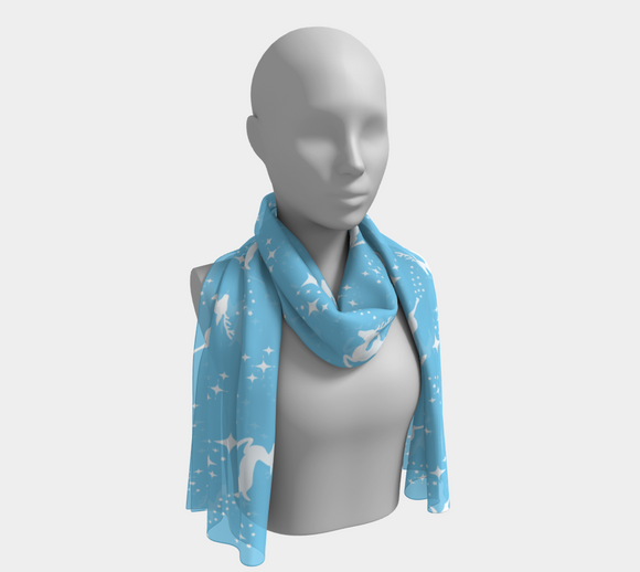 Let it snow, Deer Long Scarf