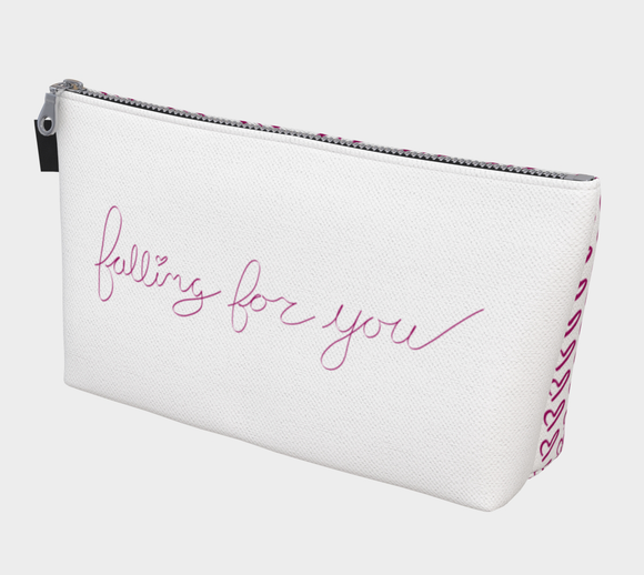 Falling For You Makeup Bag