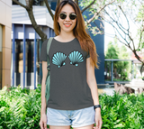 Mermaid Shells Women's Fitted Tee