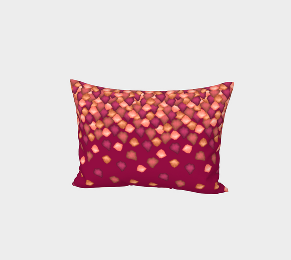 Falling Leaves Bed Pillow Sham