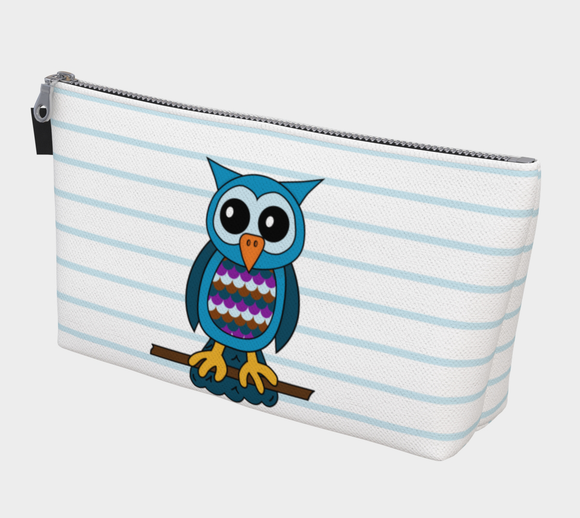 Oliver the Owl Makeup Bag