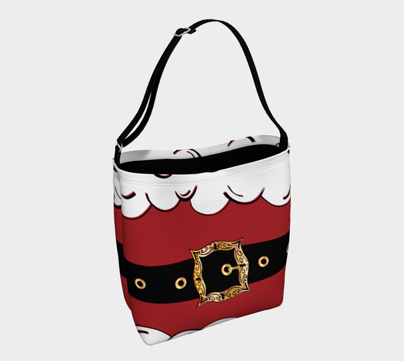 Santa Suit Tote Bag