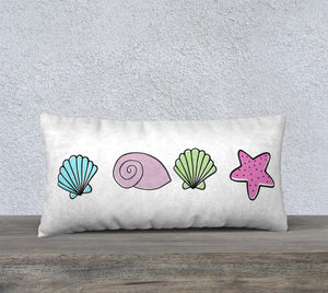 "I'm Really a Mermaid Pillow Case - 24""x12"""