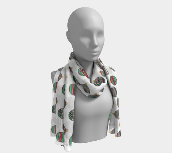 Happy Holidays Long Scarf