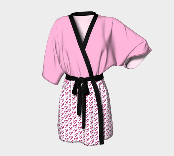 Falling For You Kimono Robe