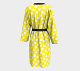 All About the Dots Peignoir - Yellow