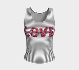 Blooming Love Fitted Tank Top (Regular)