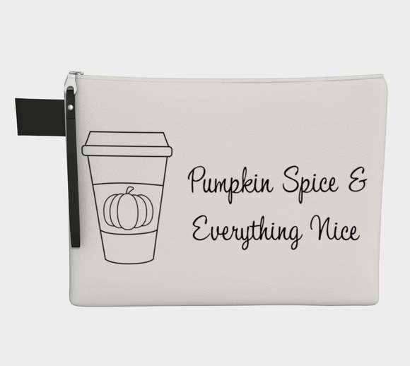Pumpkin Spice & Everything Nice Pouch