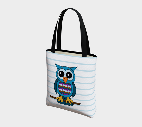Oliver the Owl Basic Tote
