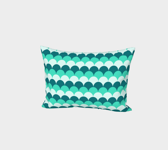Mermaid Scales Bed Pillow Sham