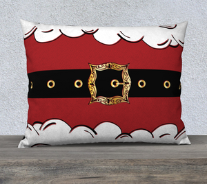 "Santa Suit Pillow Case - 26""x20"""