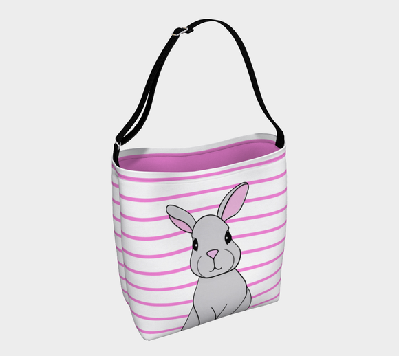 Rosie the Rabbit Tote Bag