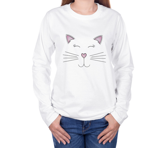 Pretty Kitty Long Sleeve T-shirt