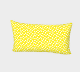 All About the Dots Bed Pillow Sham - Yellow