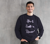 Stop & Smell the Roses Crewneck Sweatshirt