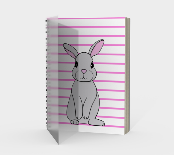 Rosie the Rabbit Spiral Notebook